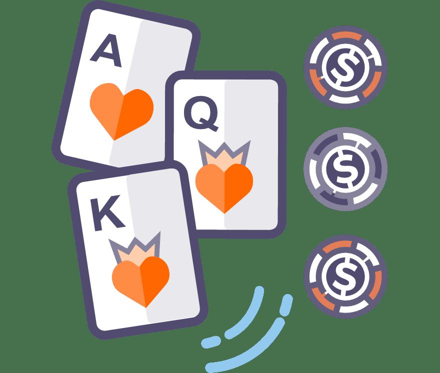 Best 63 Three Card Poker Mobile Casino in 2021